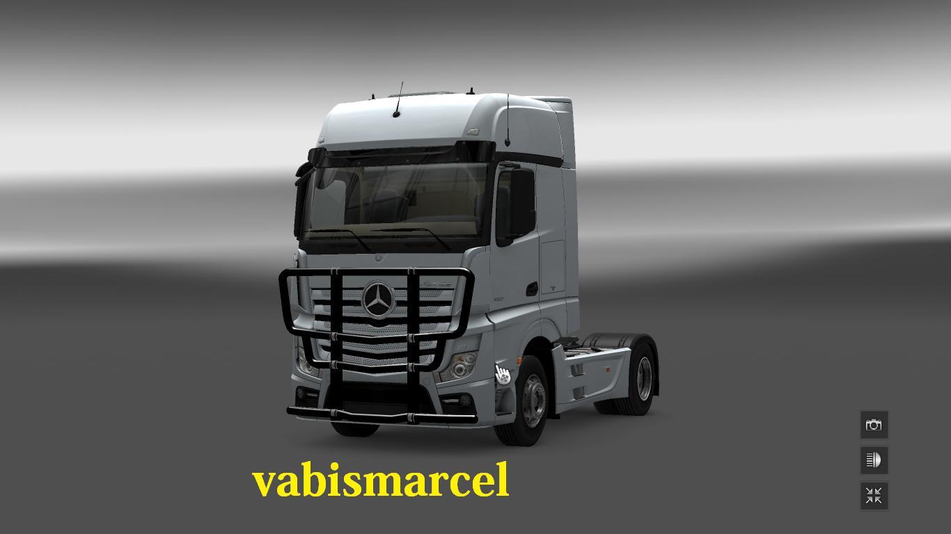 Bull Bars For Trucks >> MERCEDES ACTROS MP4 BULLBAR for ETS 2 -Euro Truck Simulator 2 Mods