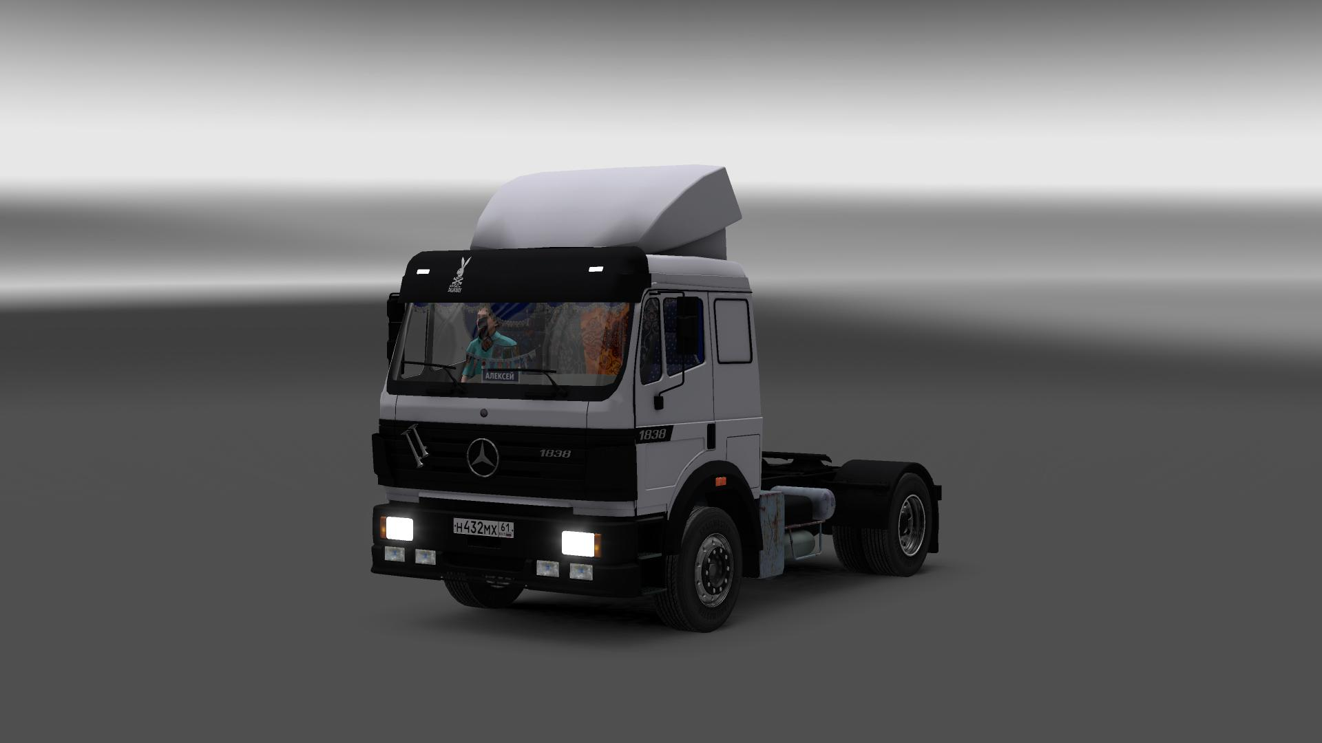 Mercedes benz sk 1838 ls truck interior euro truck for Mercedes benz trucks