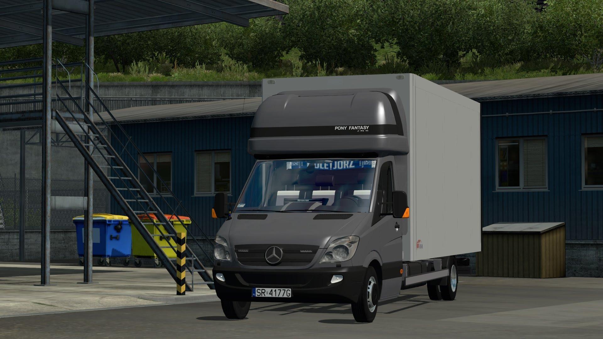 Mercedes Sprinter Izoterma Truck Euro Truck Simulator 2 Mods