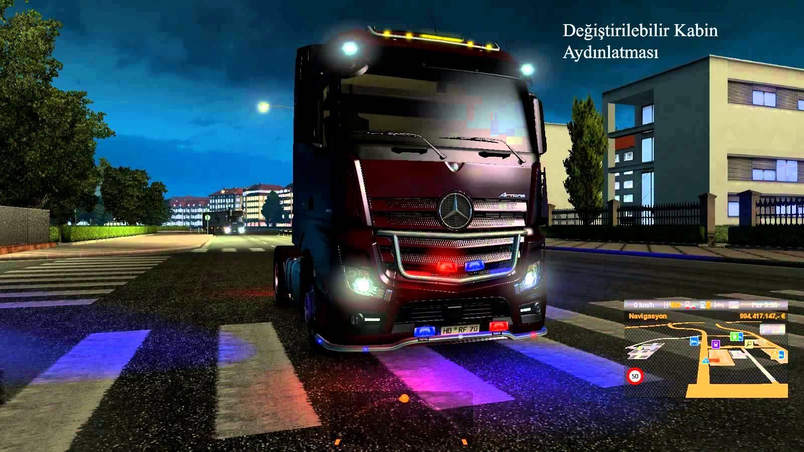 neon mod v5 0 ets2 euro truck simulator 2 mods. Black Bedroom Furniture Sets. Home Design Ideas