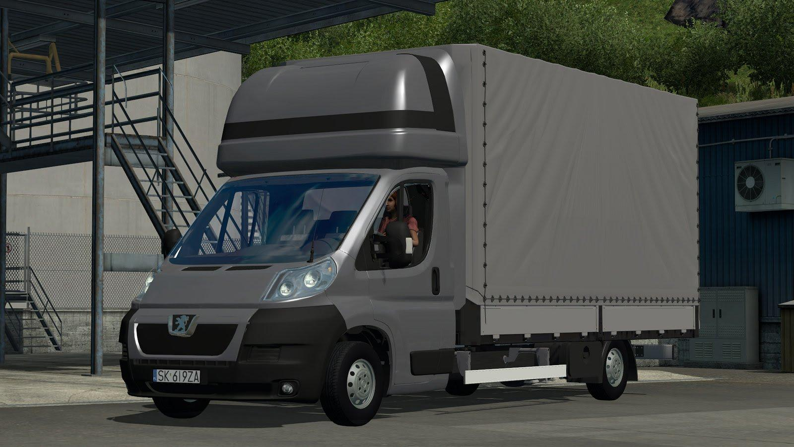 Peugeot Boxer V2 0 Truck Euro Truck Simulator 2 Mods