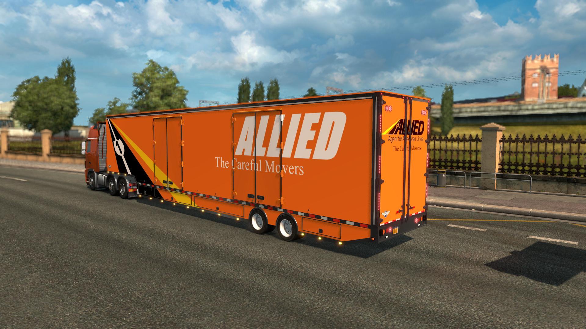 Rd Moving Van V1 0 Ets 2 Euro Truck Simulator 2 Mods