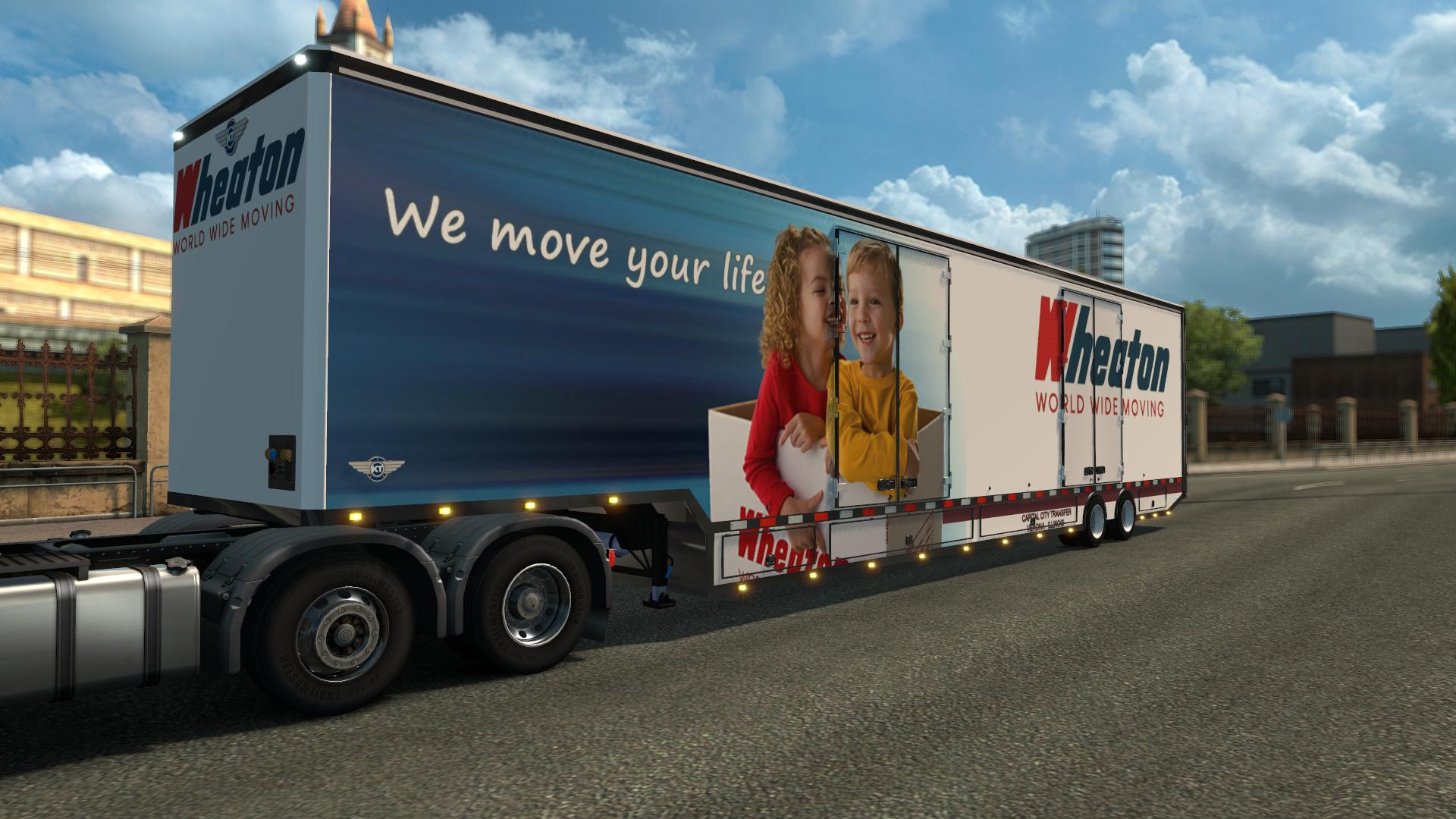 Rd Moving Van V1 0 Ets 2 on bekins trucks