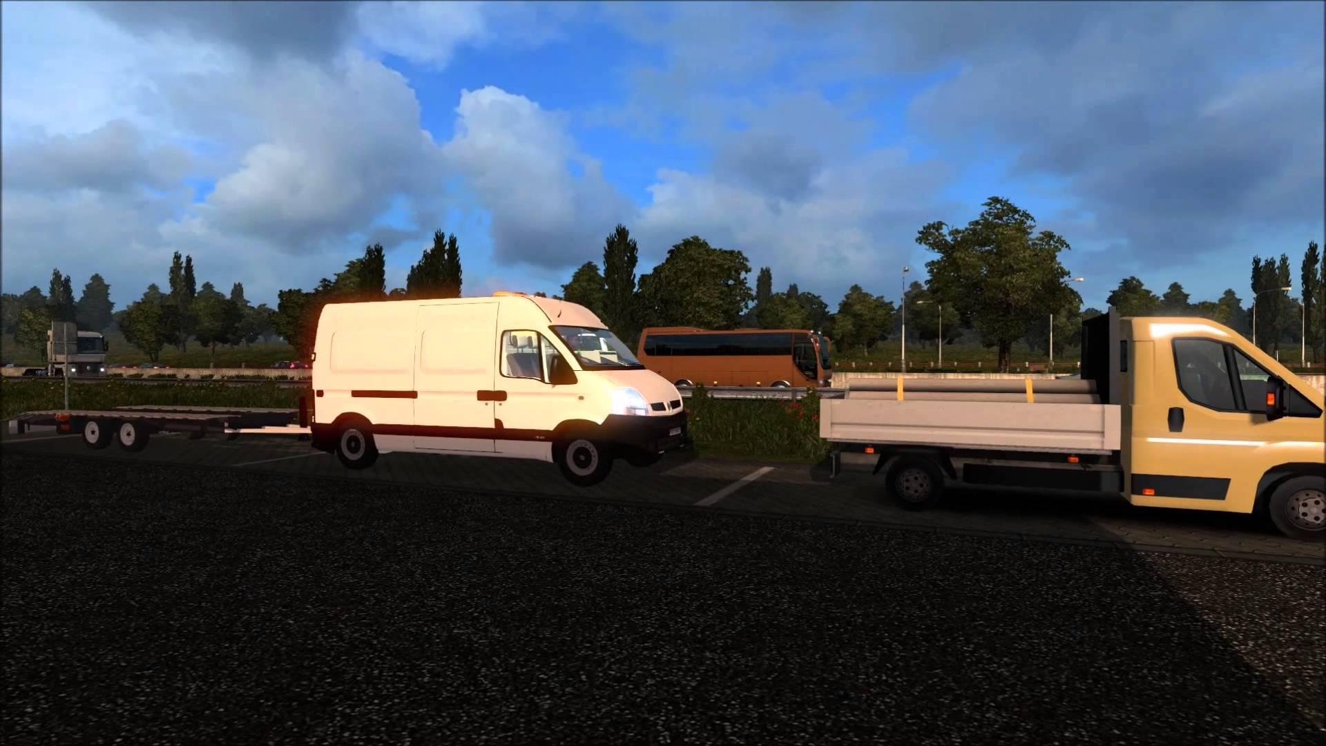 renault master v2 truck euro truck simulator 2 mods. Black Bedroom Furniture Sets. Home Design Ideas