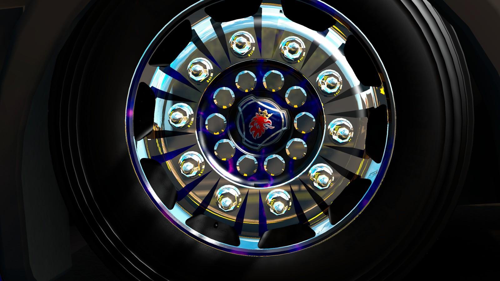 rodas reeditadas scania wheel ets 2 euro truck simulator