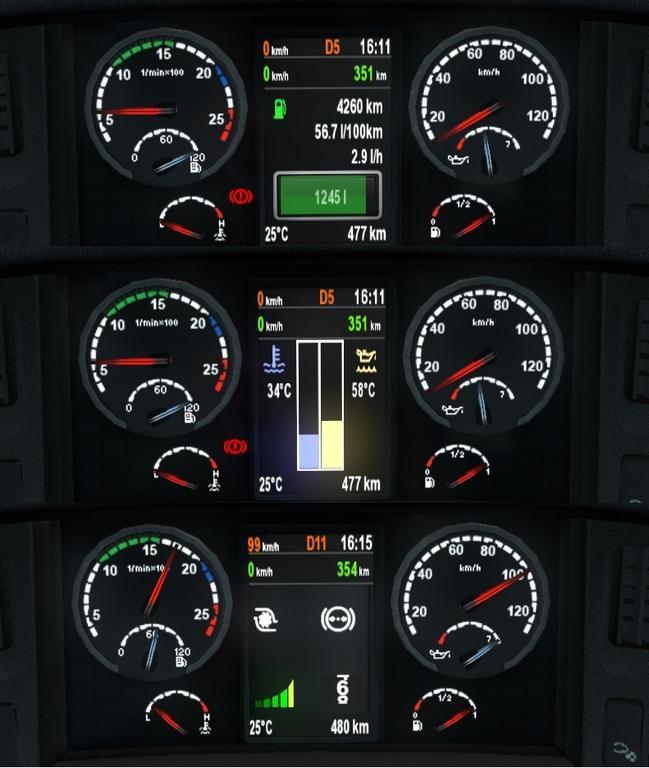 Scania Dashboard 1 21 X Mod Euro Truck Simulator 2 Mods