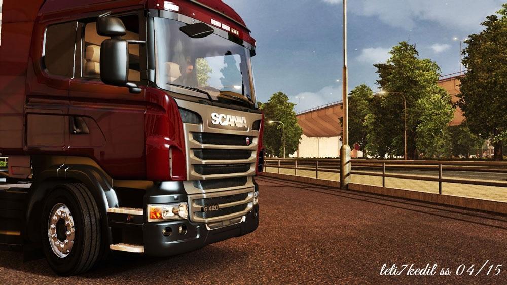 scania g420 highline stock for ets 2 euro truck simulator 2 mods