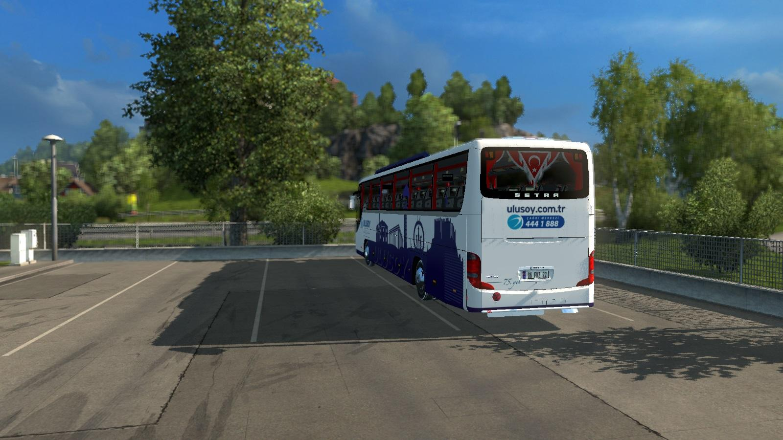 SETRA 416 GT ULUSOY ANKARA PAINTJOB V1.0 Bus -Euro Truck ...
