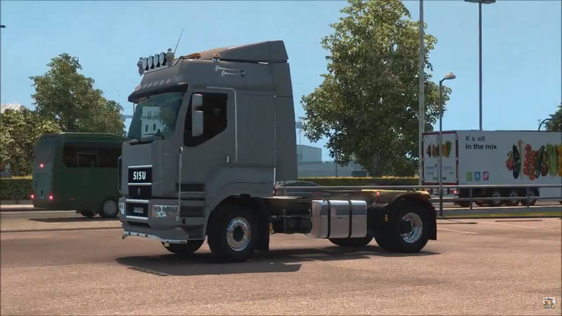 Sisu R500 C500 Amp C600 Truck Cabin Accessories Dlc Euro