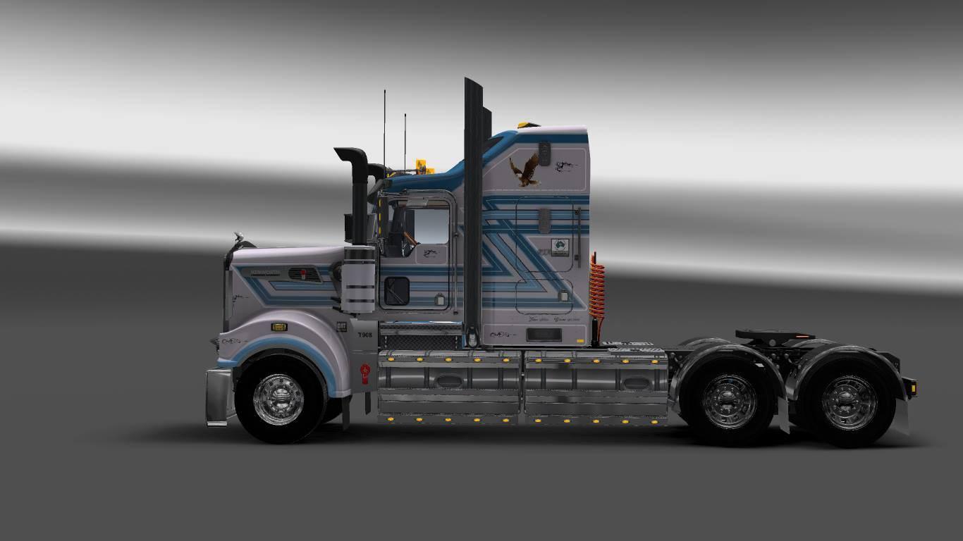 Skin Bobbins For Kenworth T908 Cab C Ets 2 Euro Truck
