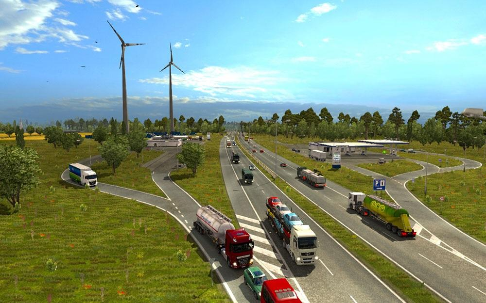 TRAFFIC DENSITY & SPEED LIMITS Mod FOR 1 21 -Euro Truck
