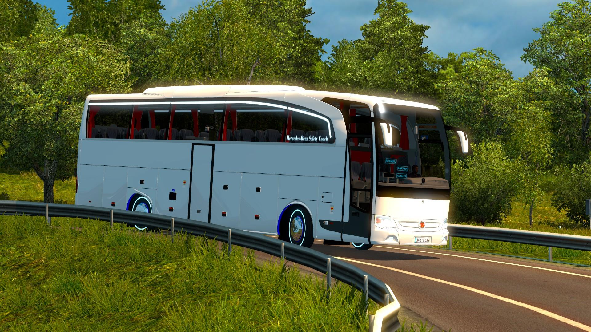 TRAVEGO 15-17 SHD V4 1.21 Bus -Euro Truck Simulator 2 Mods