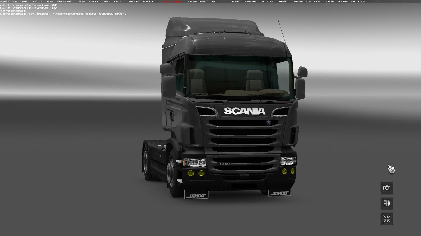 tuning for scania rs by rjl v2 2 ets2 euro truck simulator 2 mods. Black Bedroom Furniture Sets. Home Design Ideas