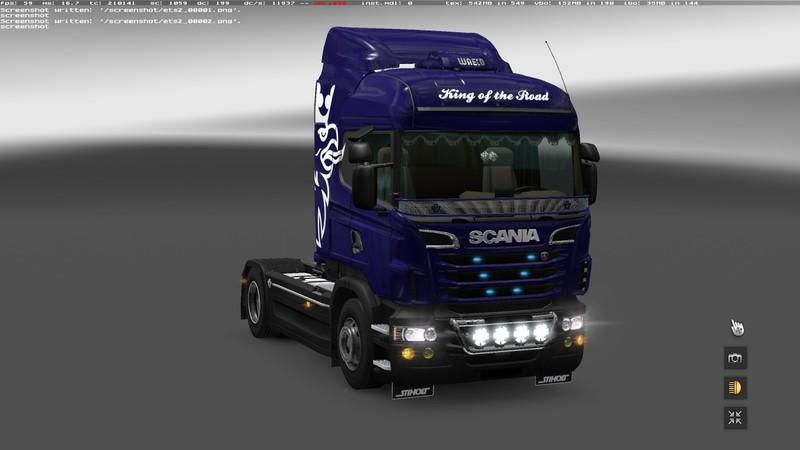 Скачать мод euro truck simulator 2 тюнинг