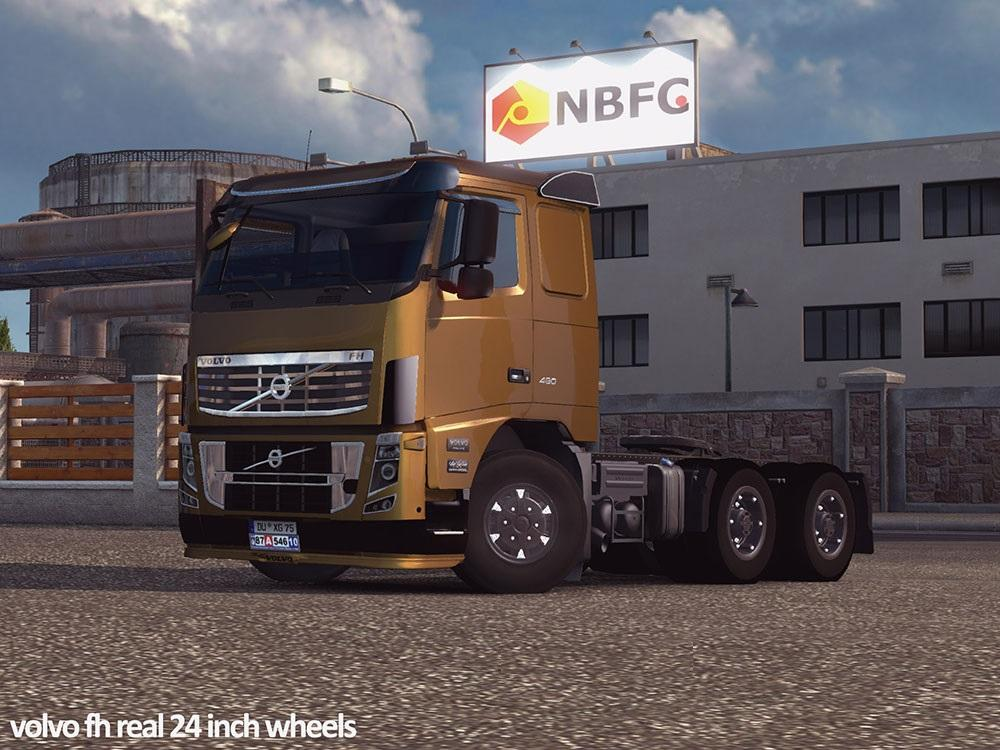 Volvo Real 24 Inch Wheels Ets 2 Euro Truck Simulator 2 Mods