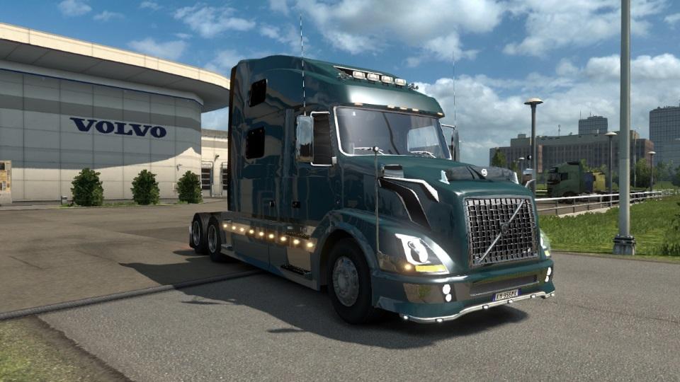 VOLVO VNL 780 REWORKED 1.21.X Truck -Euro Truck Simulator 2 Mods