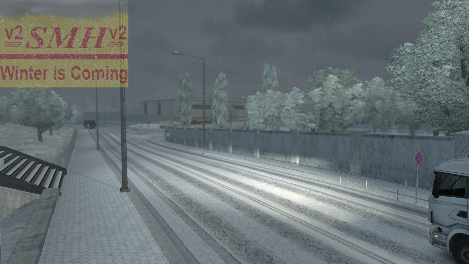 Winter Is Coming V2 1 21 X Mod Euro Truck Simulator 2 Mods