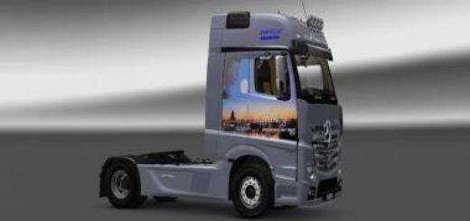 fanta truck nederland politie tmp skoda scout skin v10 mod euro truck