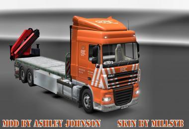RAC RECOVERY DAF SKIN BY MILLSYB ETS 2 -Euro Truck Simulator