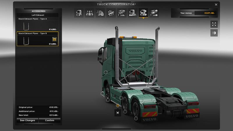 Additional Customization Parts V6 0 Ets 2 Euro Truck