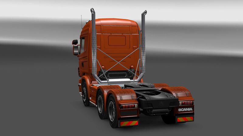 Additional Customization Parts V6 0 Ets 2 Euro Truck