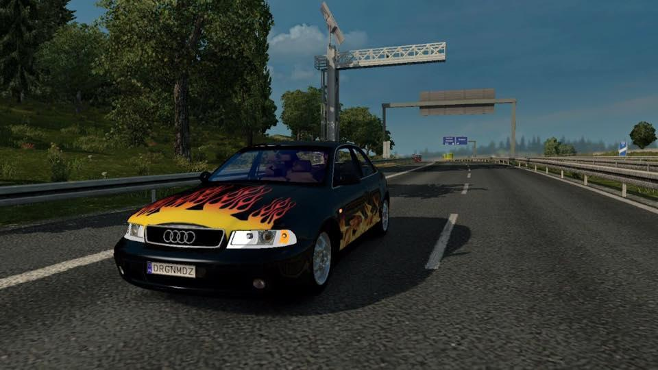 Audi A4 Beta V01 Car Euro Truck Simulator 2 Mods