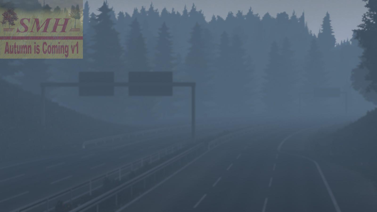 autumn is coming v1 1 21 x map  euro truck simulator 2 mods