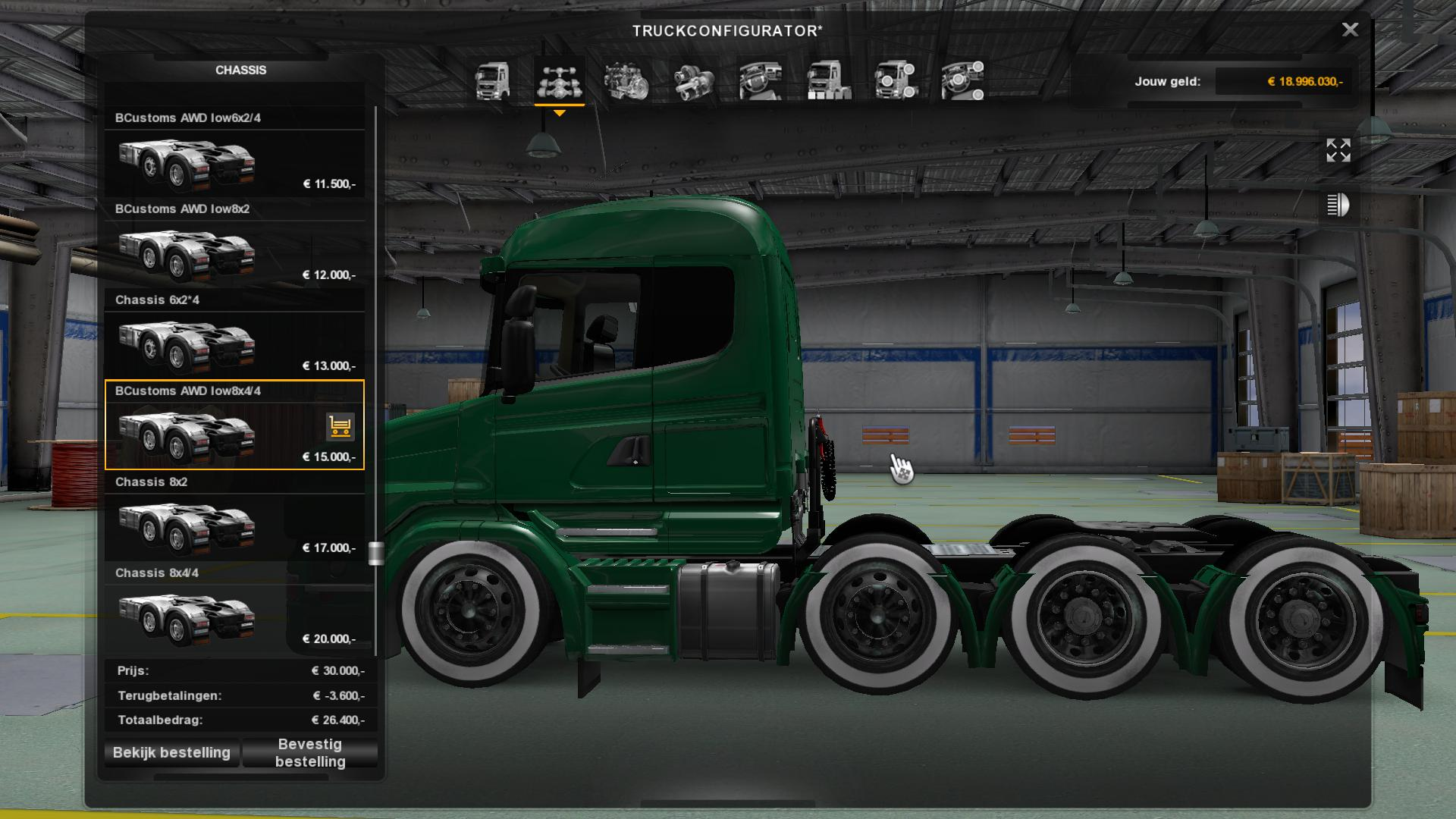 BCD SCANIA RACE PACK MOD V1.0 ETS 2 -Euro Truck Simulator ...