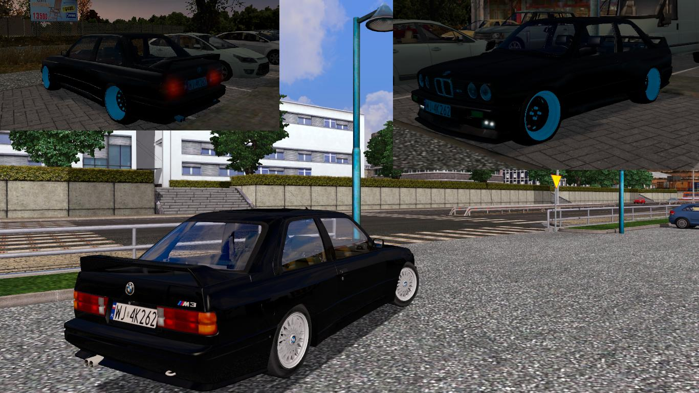Bmw E30 Car Euro Truck Simulator 2 Mods