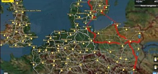 Australia Map Ets2.Scandinavia Euro Truck Simulator 2 Mods