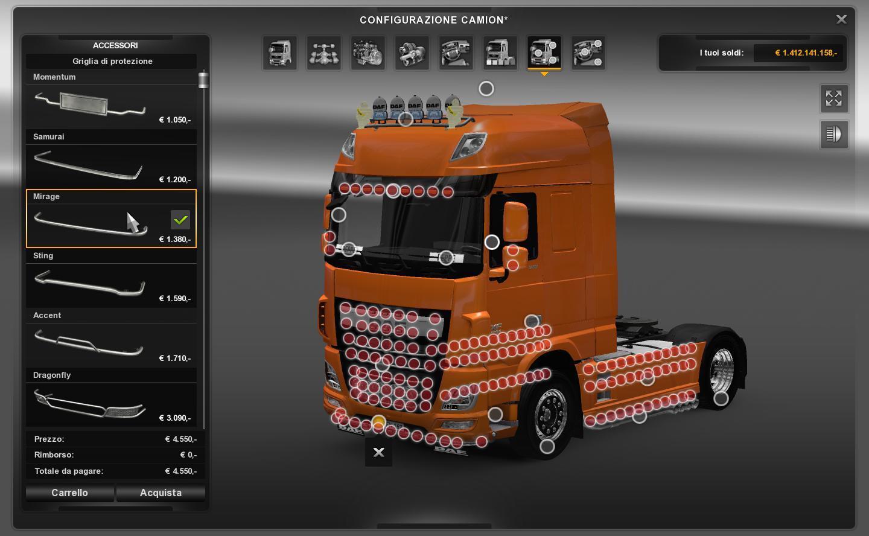 DAF XF EURO 6 TUNING ETS 2 -Euro Truck Simulator 2 Mods