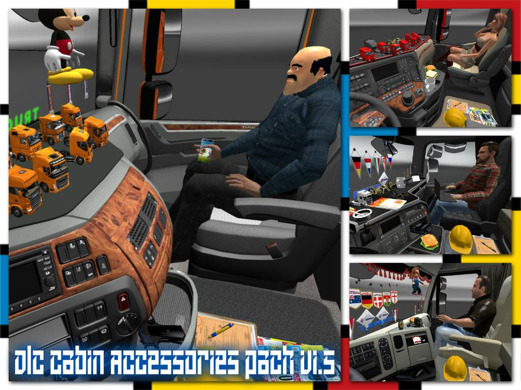 Dlc Cabin Accessories Pack V1 5 1 21 Ets2 Euro Truck
