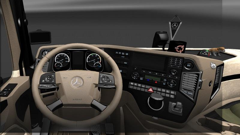 mercedes actros 2014 interior pack ets2 euro truck simulator 2 mods. Black Bedroom Furniture Sets. Home Design Ideas