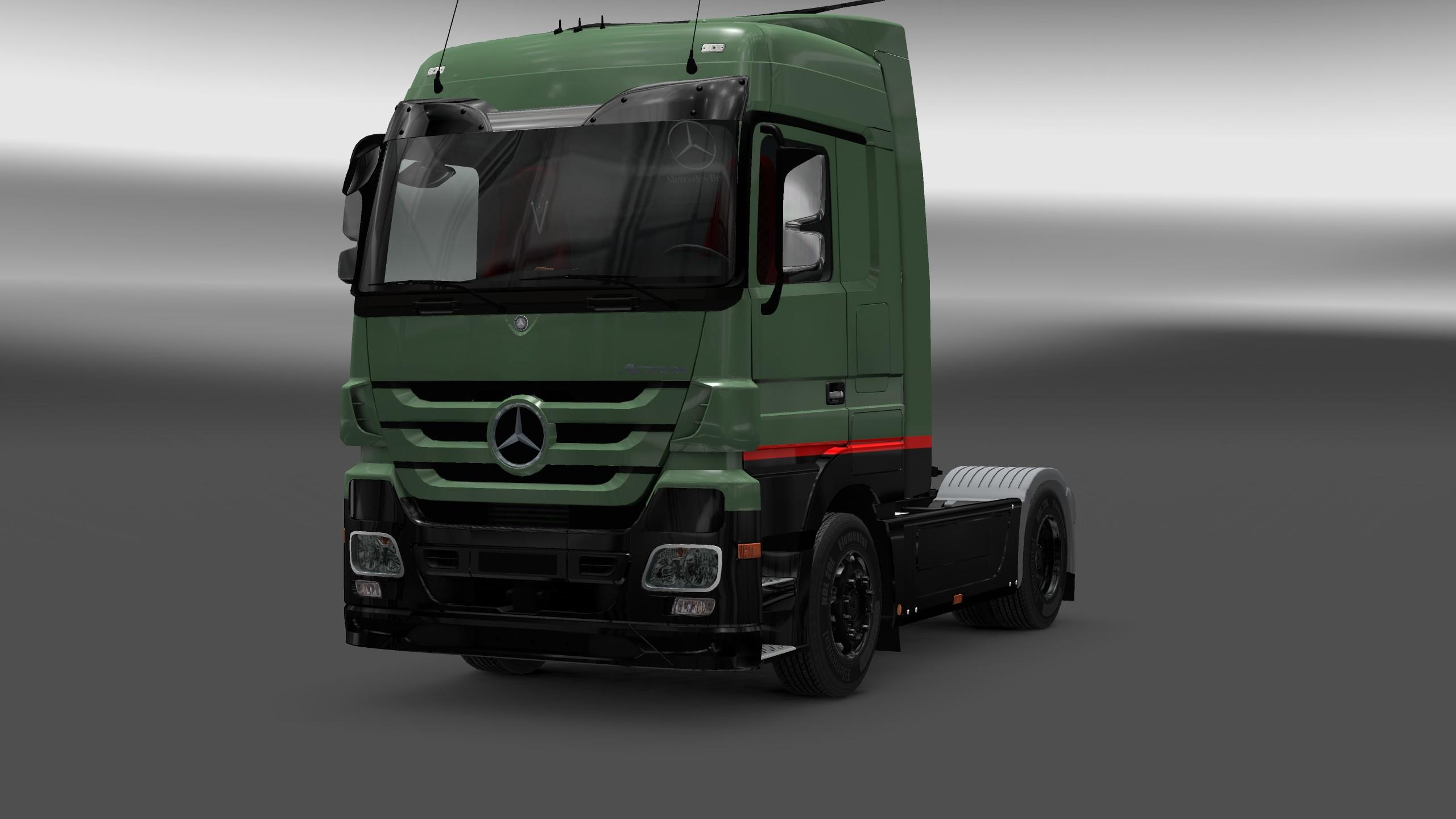 Mercedes benz actros mp3 interior and exterior rework ets for Mercedes benz truck parts