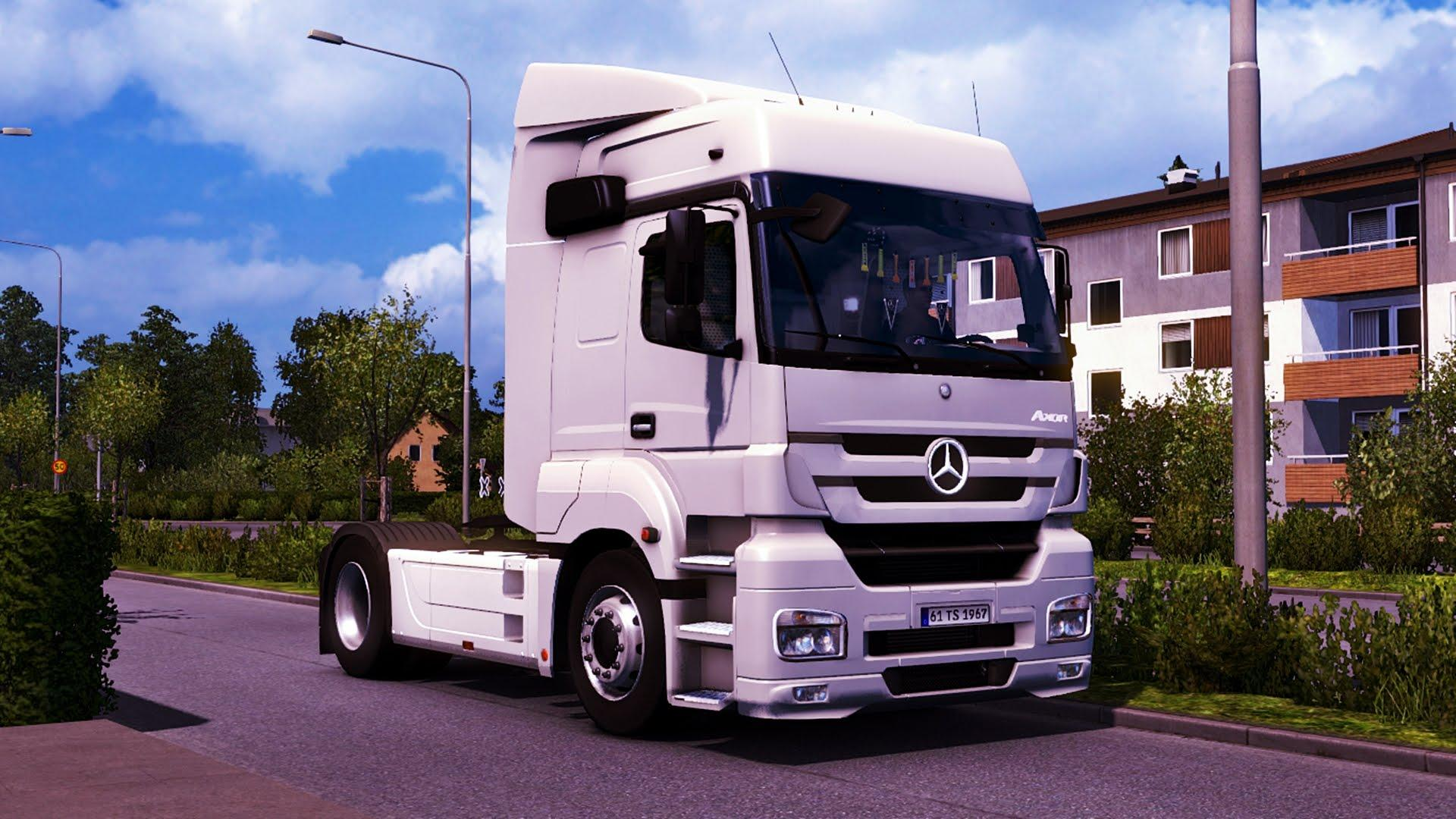 Mercedes benz axor truck mp3 fix cabin accessories euro for Mercedes benz truck pictures