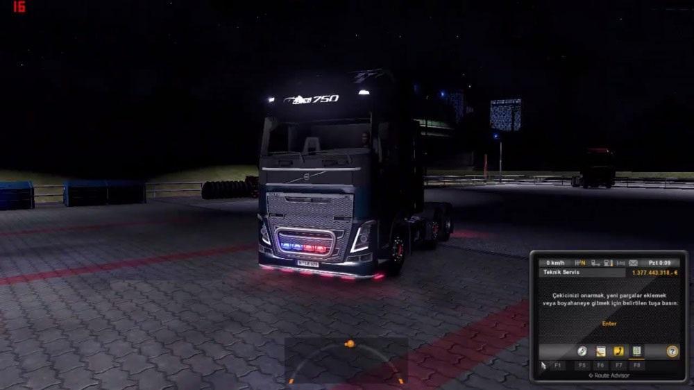 скачать мод неон для Euro Truck Simulator 2 - фото 9