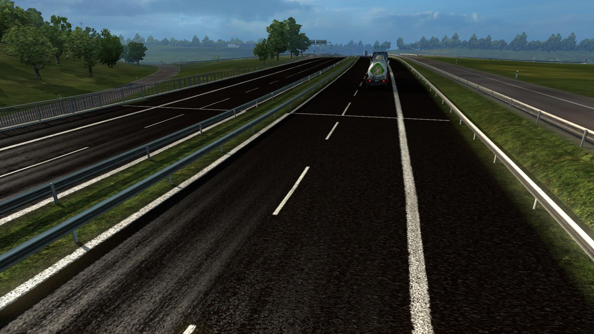 NEW ROAD TEXTURES 1.21 Mod -Euro Truck Simulator 2 Mods