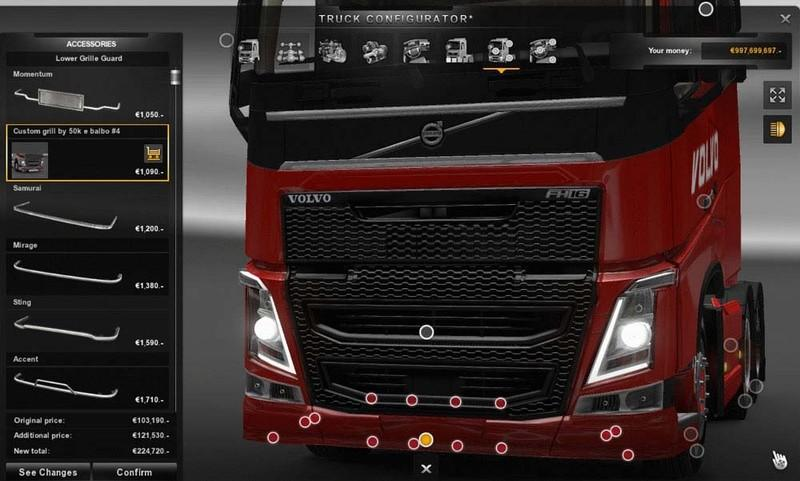 NEW TUNING VOLVO FH 2013 ETS2 -Euro Truck Simulator 2 Mods