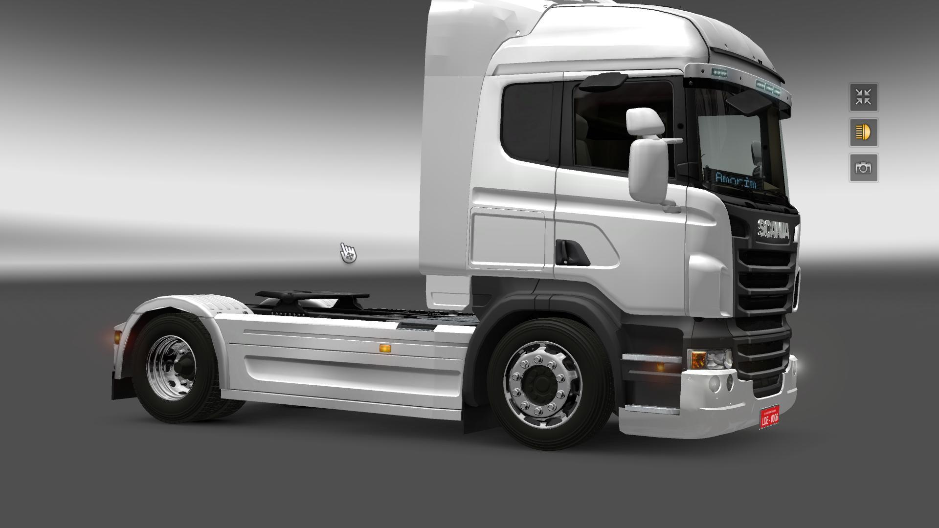 Parts For Cars >> NEW WHEELS FOR SCANIA + TUNING MOD -Euro Truck Simulator 2 Mods
