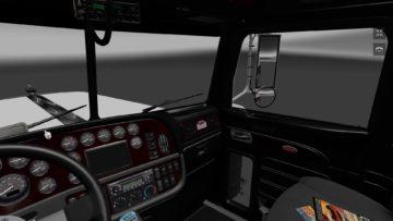 Peterbilt 389 Dark Interior Mod Euro Truck Simulator 2 Mods