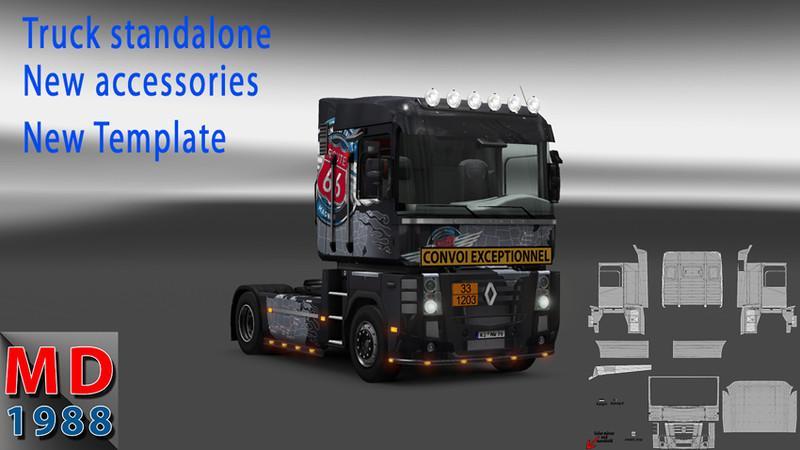 Renault Magnum V1 0 For Ets 2 Euro Truck Simulator 2 Mods