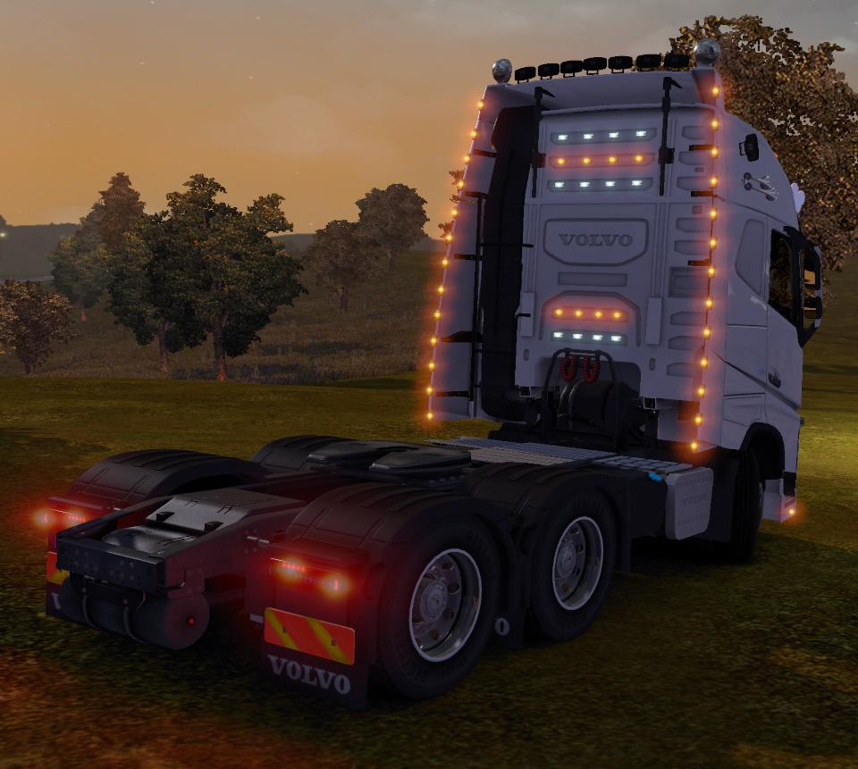Euro Truck Simulator 2 - ETS 2 Mods Reviews Volvo FH by