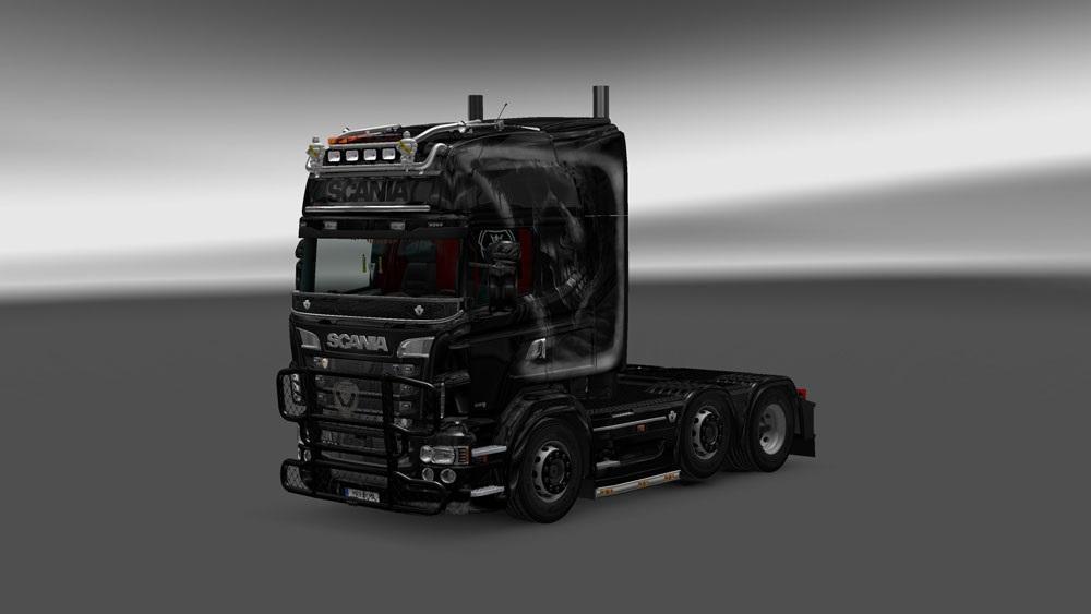 Scania Rjl R Grim Reaper Skin Mod Euro Truck Simulator 2 Mods