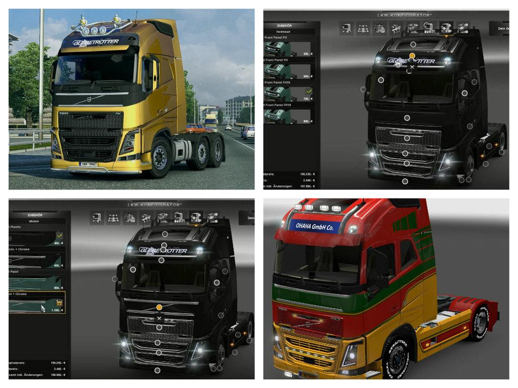 VOLVO FH 2013 BY OHAHA V17.2S ETS2 -Euro Truck Simulator 2 Mods