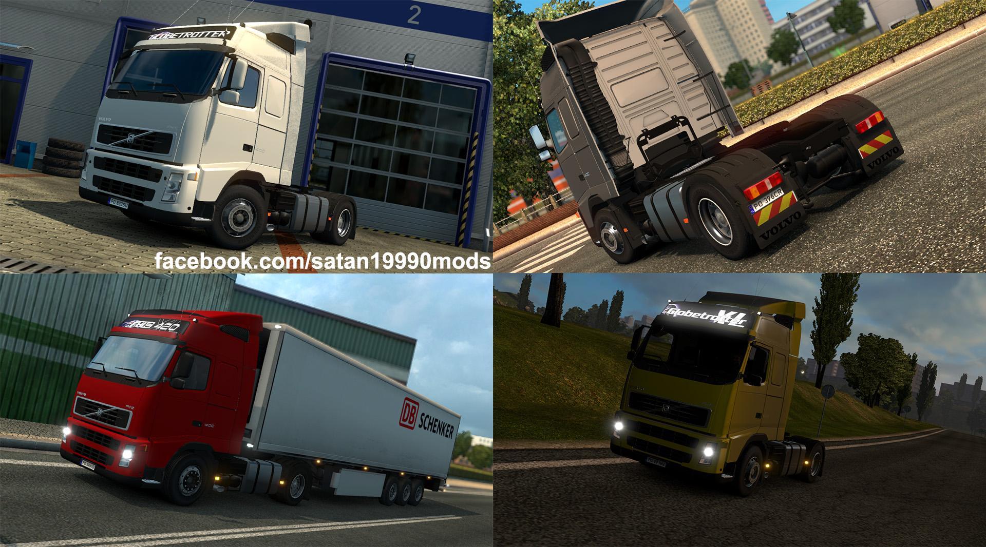 VOLVO FH12 1.0 Truck -Euro Truck Simulator 2 Mods