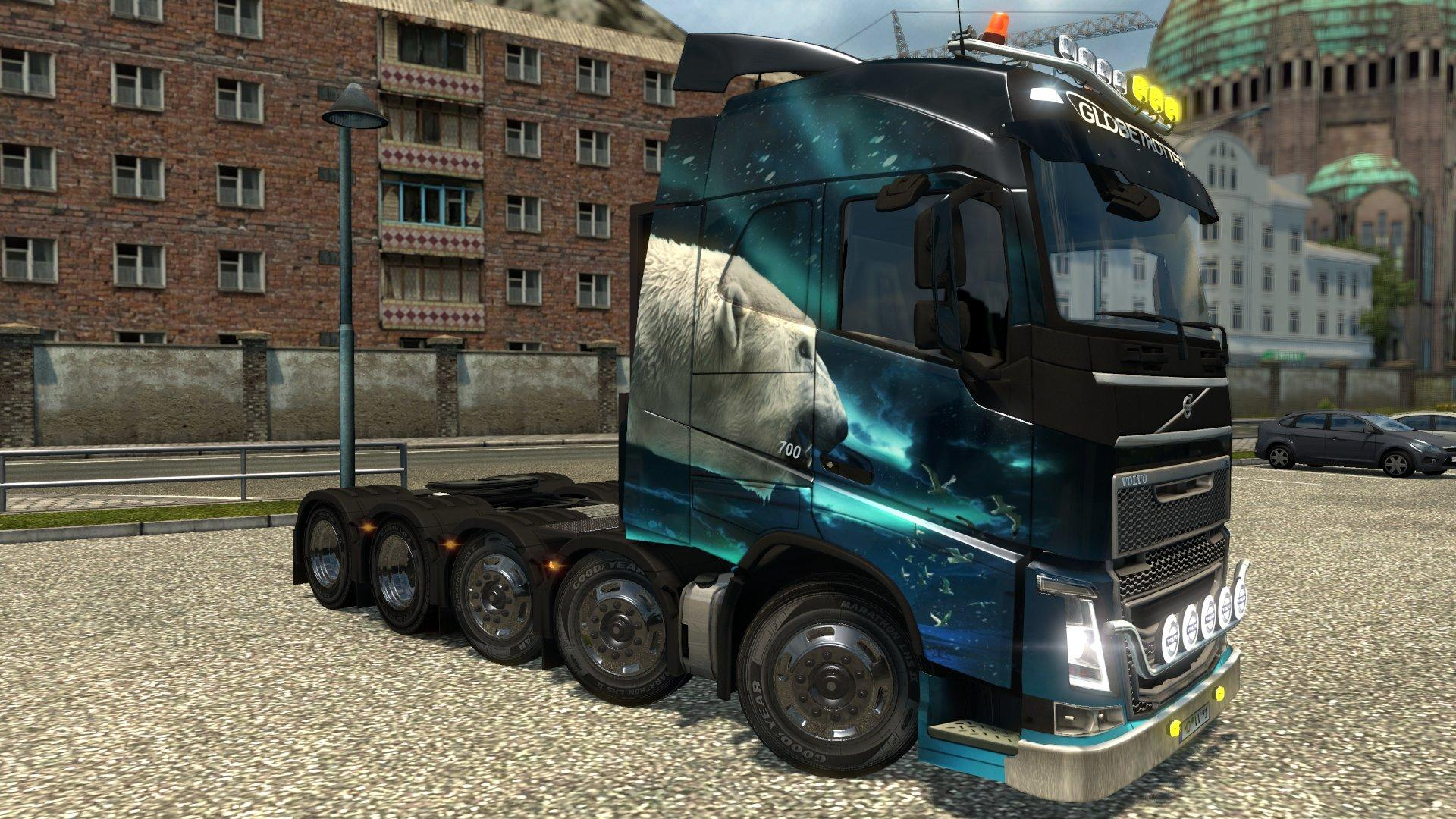 VOLVO FH16 2012 10X4 & 8X4 1.21 Truck -Euro Truck Simulator 2 Mods
