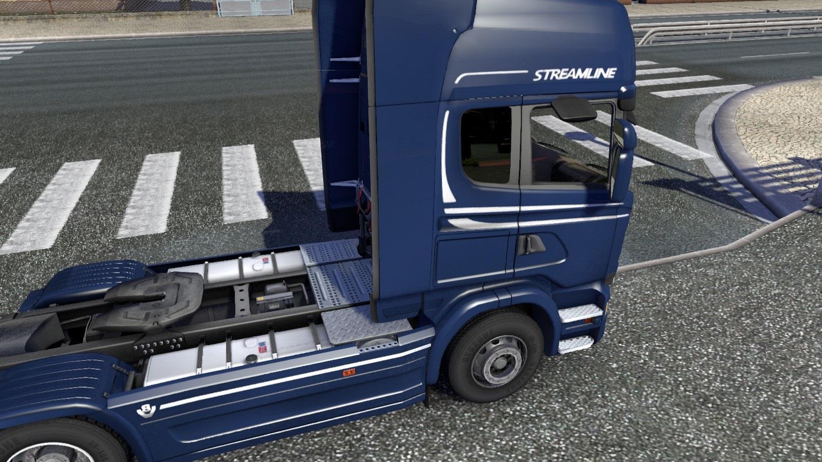Volvo fh16 2012 dark window sleeper for ets 2