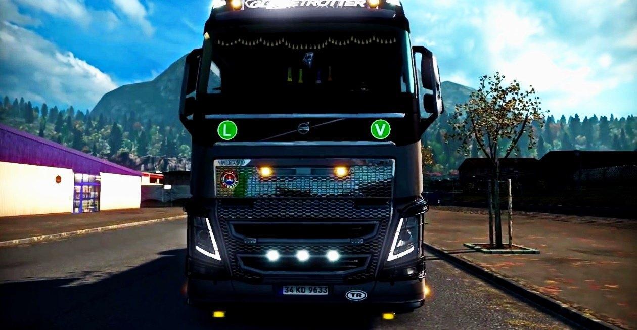 VOLVO FH16 2012 EDIT VERSION Truck + CABIN ACCESSORIES DLC ...