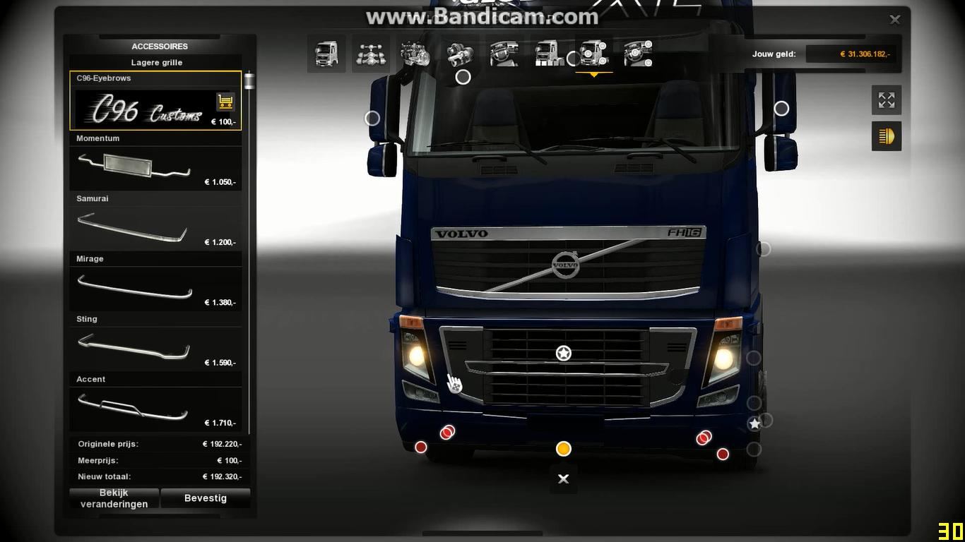 Volvo Fh16 Bottom Grill Ets 2 Euro Truck Simulator 2 Mods