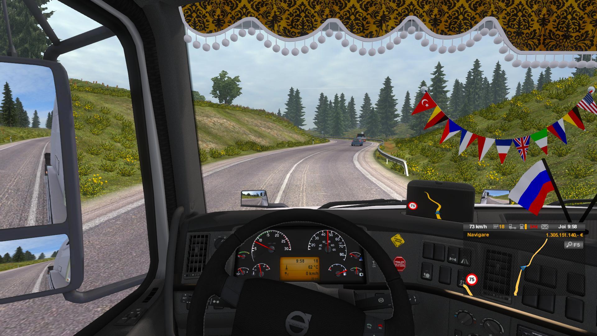 Man lion's coach bus | euro truck simulator 2 | 1. 23 1. 24 youtube.